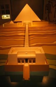 Zaal het oude Egypte in het Museon