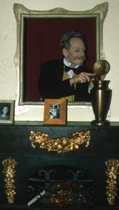 Asbus thuis tijdens 't Spookt in de soap in 1998